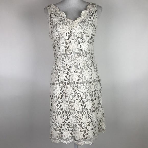 Vintage Lace Sheath Dress
